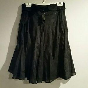 Express Pleaded Skirt